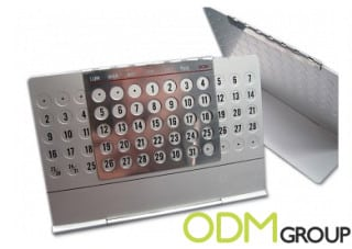 Brilliant idea - Customized Aluminium Calendar