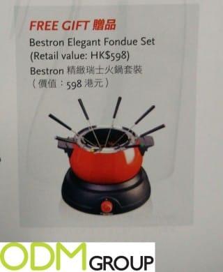 Customized Fondue Set
