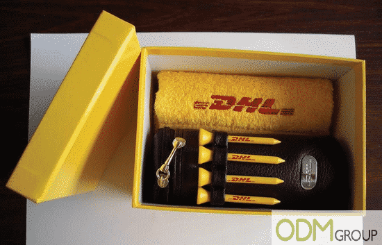 Promotional Golf Gift Set by DHL