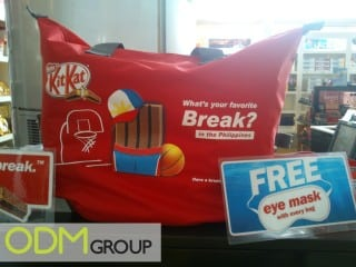 Promotional tote bag by KitKat