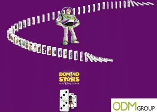 Branded Domino Set by Disney