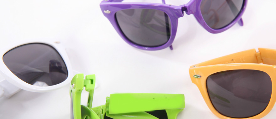 Exclusive foldable sunglasses for summer promotions