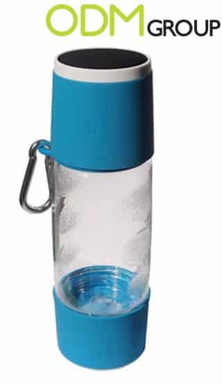 Custom Water Bottle with Wireless Speaker