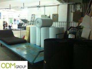 Moulding Foam Factory Floor