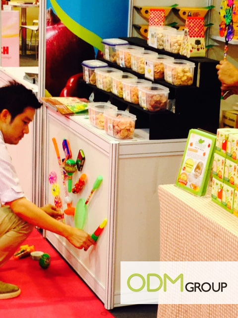 Food Promotion HOFEX - Toys to grab attention