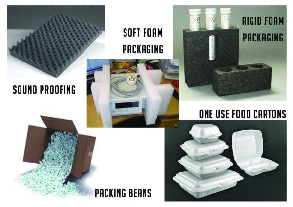 Moulding Foam Uses