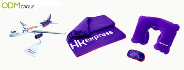 Inflight merchandise by HK Express Airline