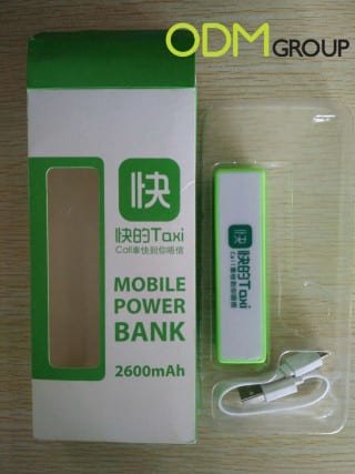 Fast Taxi Branded Power banks