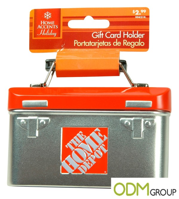The Home Depot: Innovative Gift Card Holders