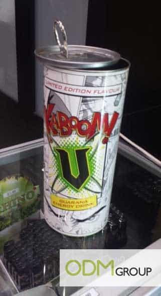 Marketing idea in Australia  - V Energy straw holder