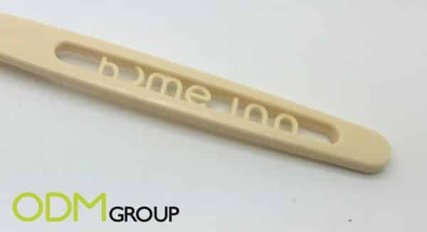Promote your brand with a molded logo toothbrush