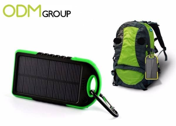Increase your brand activation with a solar power charger