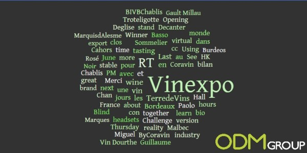 Promotional market trends observed at Vinexpo 2015