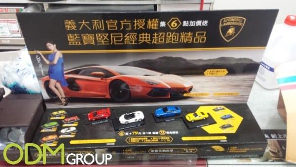 Impressive marketing and licensing from Lamborghini