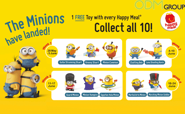 McDonald's Happy Meal Minion Giveaway