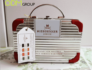 Niederegger's original choice in product packaging