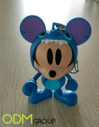 Disney figurine as a redemption marketing gift