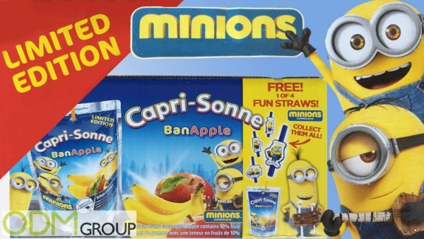 Capri Sun launches Minion on-pack promotion
