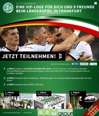 Promotional products by Germany's national soccer team