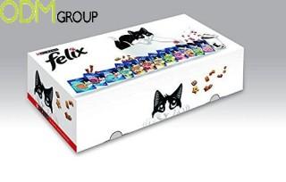 Felix offering a free branded metal box
