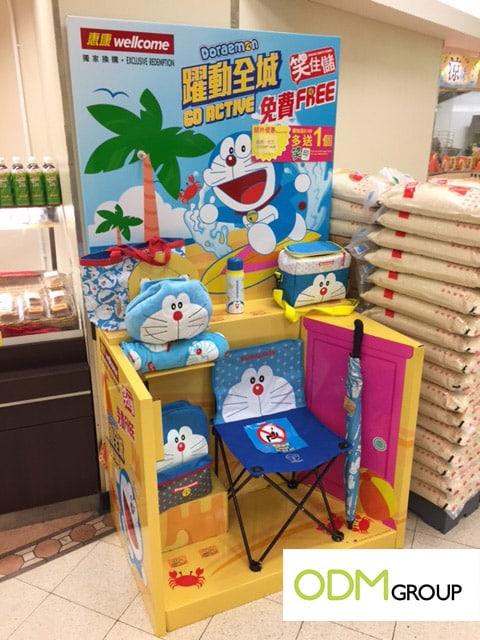 Summer Promo - Doraemon campaign at Wellcome