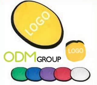 Branded water Frisbee as promotional product