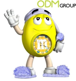 Branded alarm clocks as promotional product