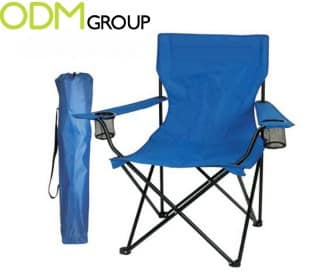 Camping chairs as redemption gift