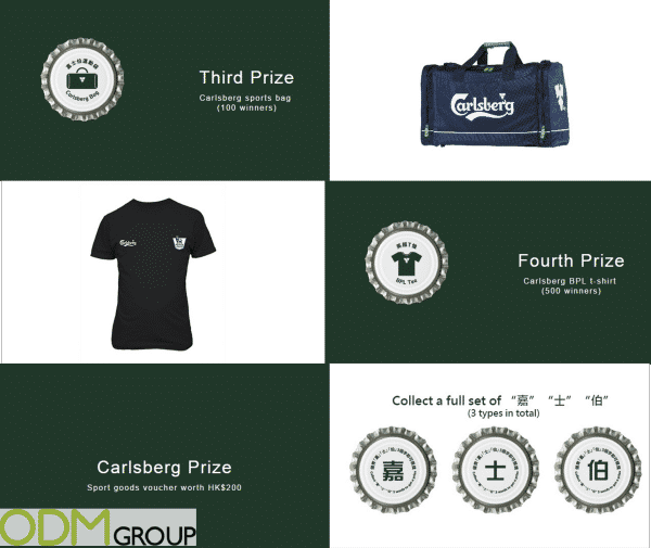 Carlsberg offers Premier League redemption gifts