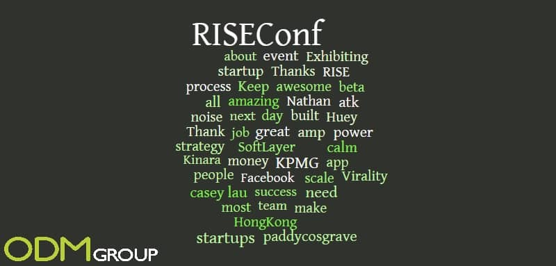 Conference tracking and analysis: Riseconf 2015