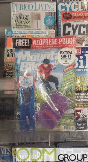 Pedal-Spanner as Free Covermount Gift with Magazine