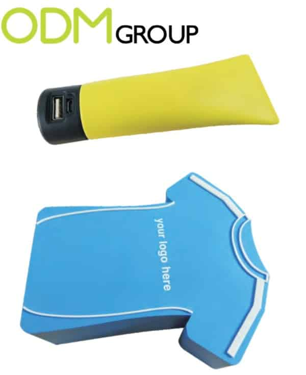 Promotional gadgets: custom power banks and USB's