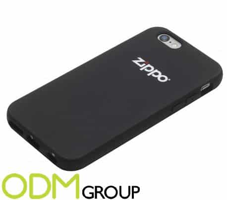 Branded smartphone cover as redemption gift