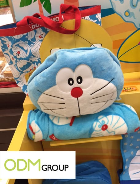 Summer promotion by Wellcome - Doraemon beach bag & beach mat