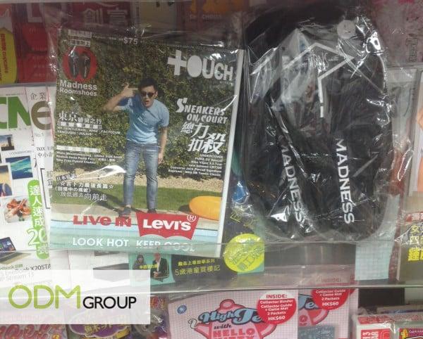 東TOUCH Magazine Covermount Gift in Hong Kong