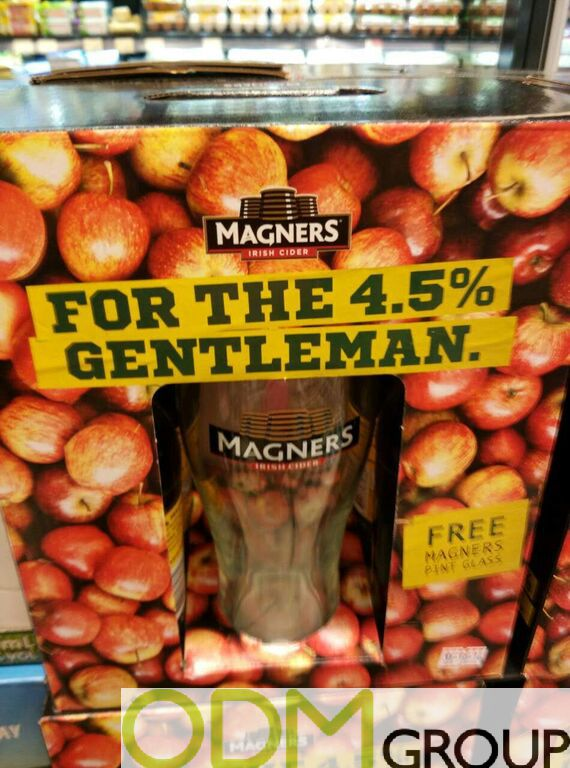 Branded Glass by Magners - Gift With Purchase