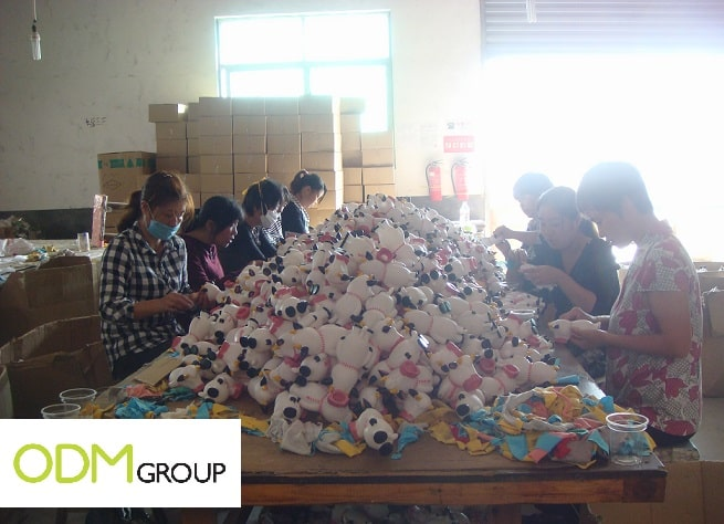 China Factory Visit - Buyer Diary #28 Increasing Productivity (Team Work)