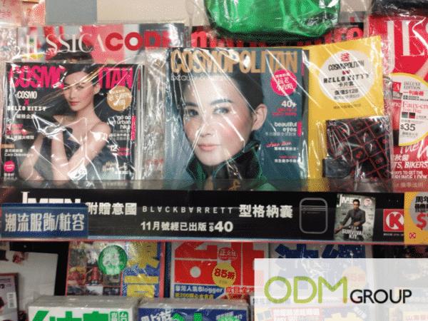 Cosmopolitan Magazine Licensed Hello Kitty Card Holder