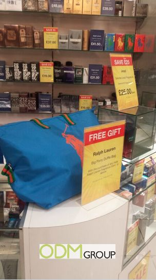 Free Gift With Purchase - Duffle Bag by Ralph Lauren