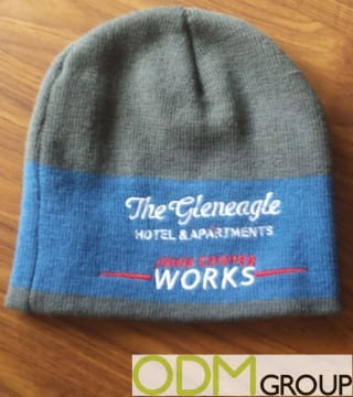 Great Use of a Branded Hat By The Glenegale