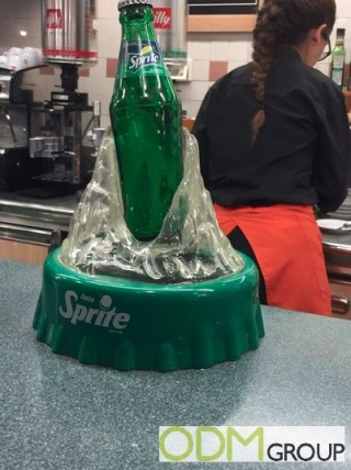 Customized In-Store Display by Sprite