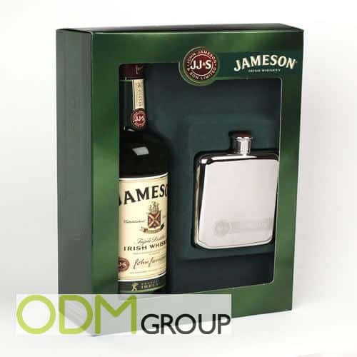 Jameson Branded Flask as Gift with Purchase
