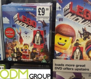 Gift with Purchase - Free with Lego Movie
