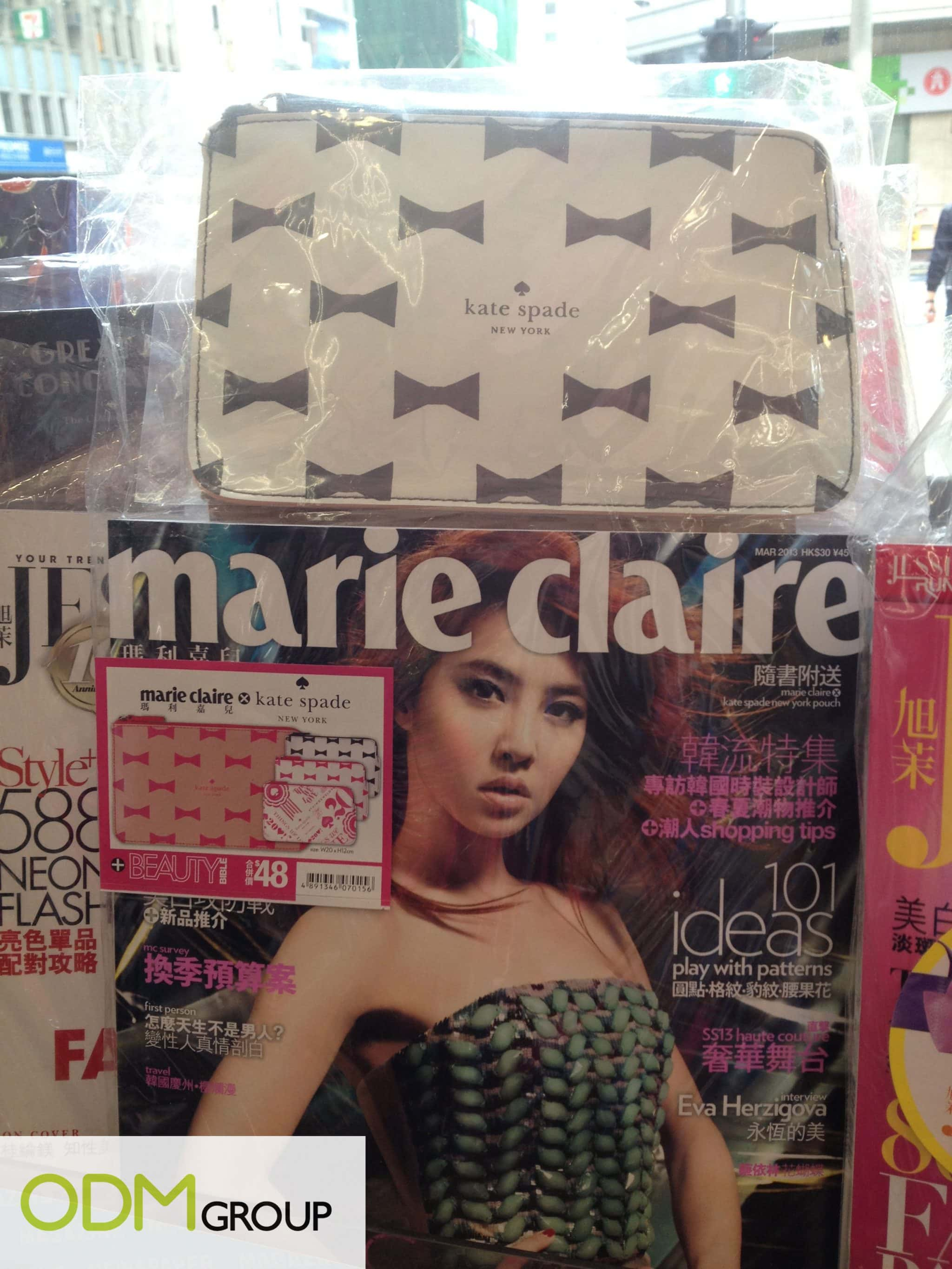 On Pack Promo: Marie Claire x Kate Spade
