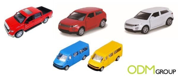 Pull Back Toy Cars as Custom Marketing Gift