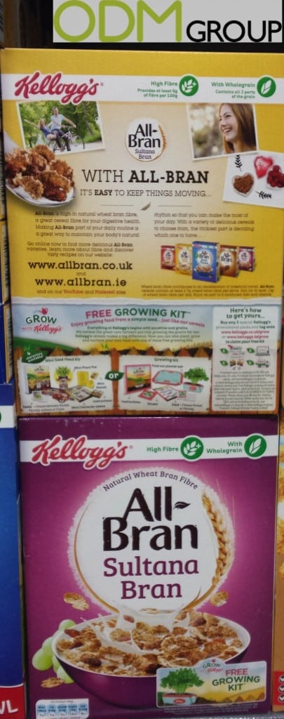 Successful Gift With Purchase Campaign By Kellogg's