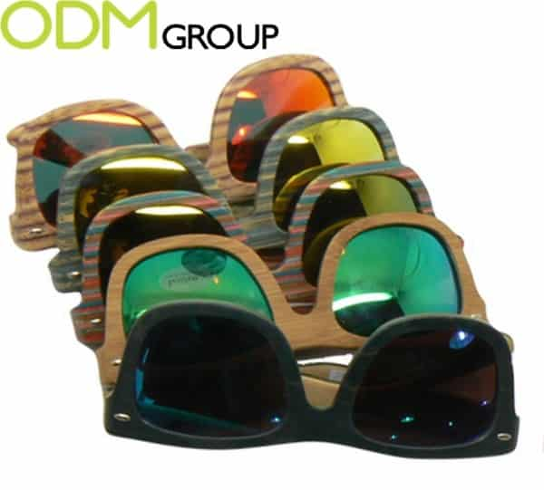 We love Pop offers custom sunglasses as on pack gift