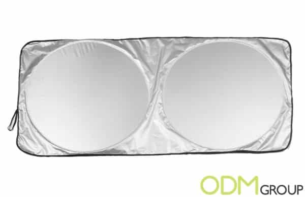 Windshield Sun Shades as a Promotional Product
