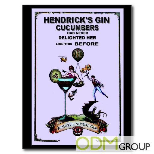 Branded Postcards for Advertising Campaign by Hendrick's Gin