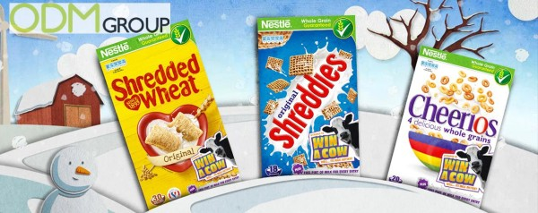 Nestle launches Win a Cow On-Pack Promotion